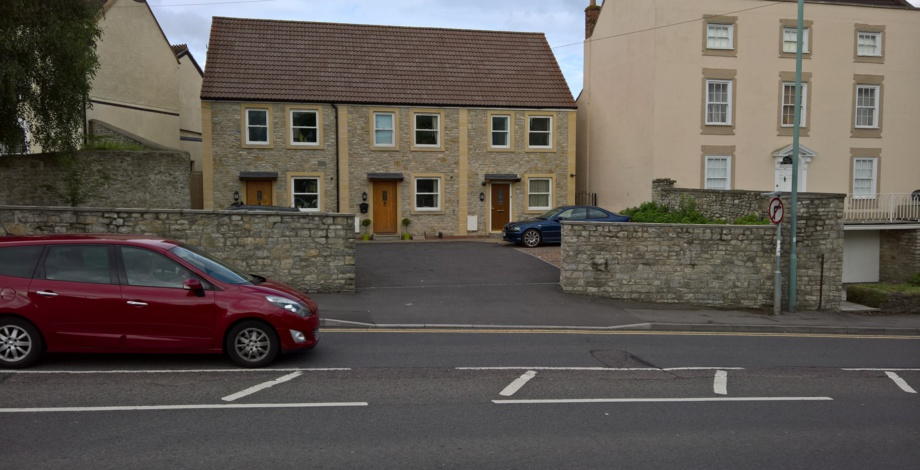 Three cottages we built two years ago in Keynsham
